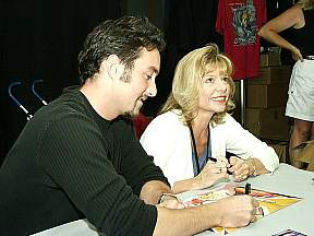 Dameon and Linda Young (The voice of Frieza)